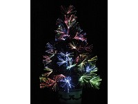 lunartec gro er led weihnachtsbaum mit glasfaser farbwechsler. Black Bedroom Furniture Sets. Home Design Ideas