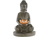Lunartec Solar-LED-Lampe Buddha (refurbished)