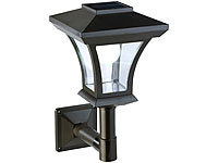 Lunartec Solar-LED-Wandleuchte WL-345, 45 Lumen, 0,3 Watt (refurbished)