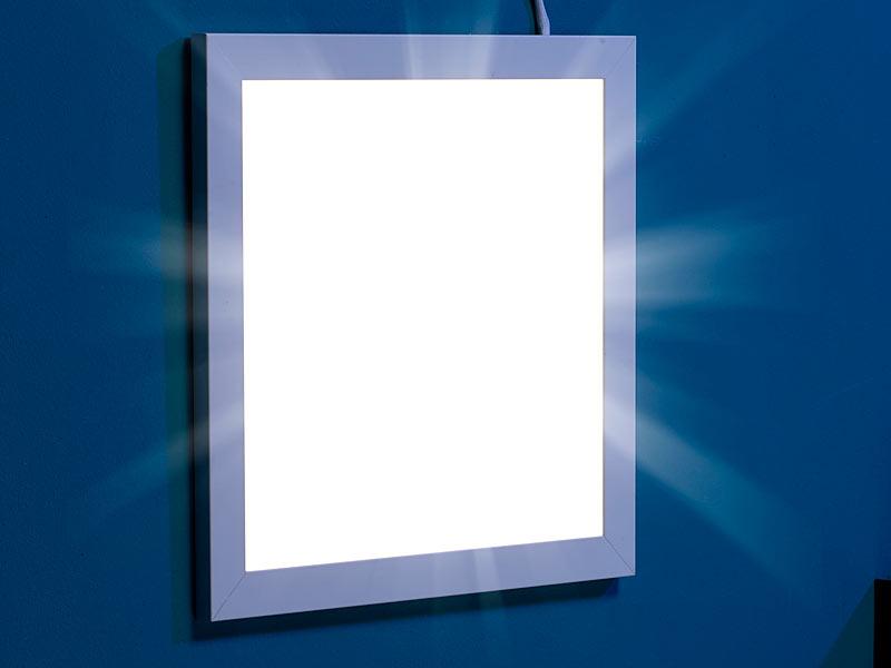 Top Lunartec LED-Panel 30 x 30 cm, 30 W, warmweiß, 3000 K UV11